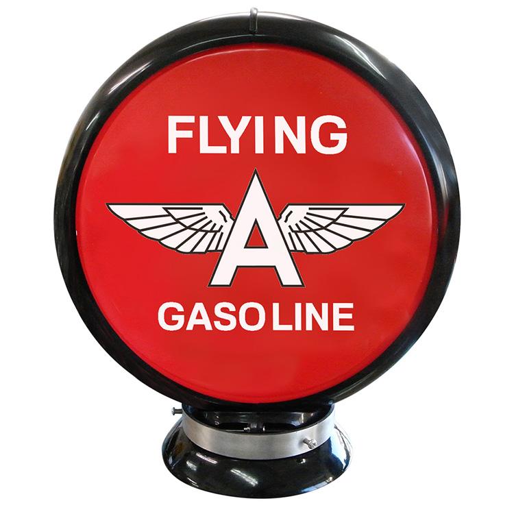 ガスランプ FLYING A GASOLINE ガソリン給油機 ガソライト ライト レトロ 照明 アメリカ雑貨 アメリカン雑貨