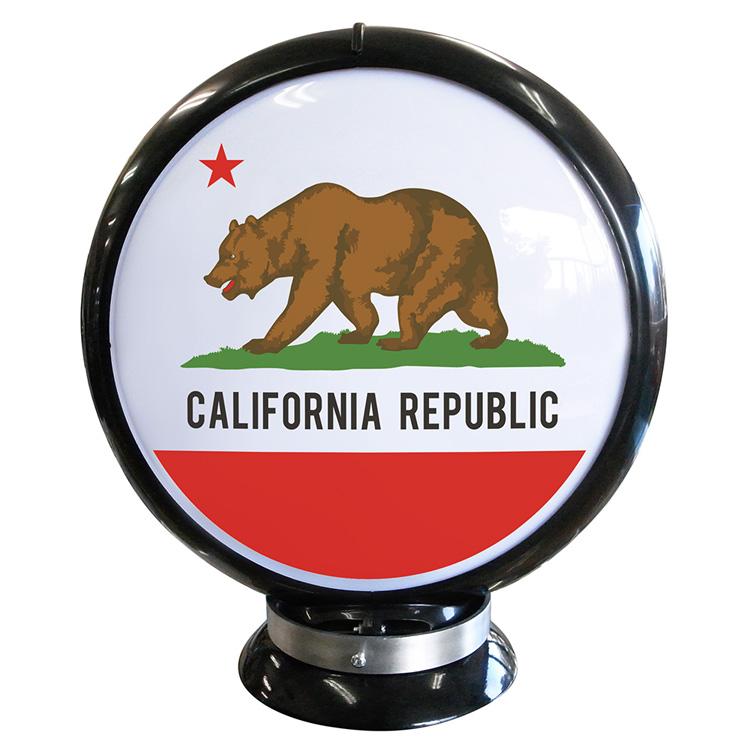 ガスランプ CALIFORNIA REPUBLIC ガソリン給油機 ガソライト ライト レトロ 照明 アメリカ雑貨 アメリカン雑貨
