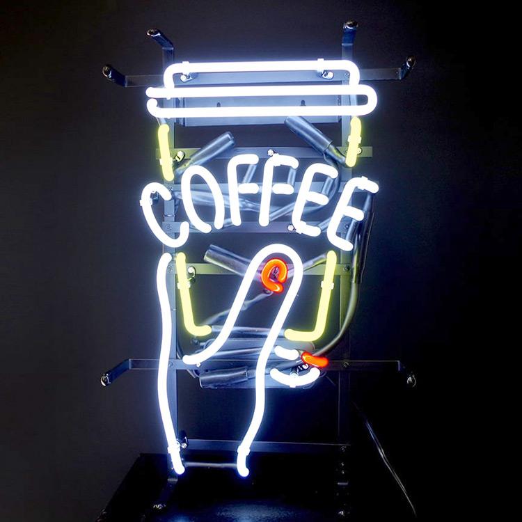 ネオンサイン / COFFEE インテリア ネオン管 カフェ アメリカン インテリア 電飾 店舗 アメリカ雑貨