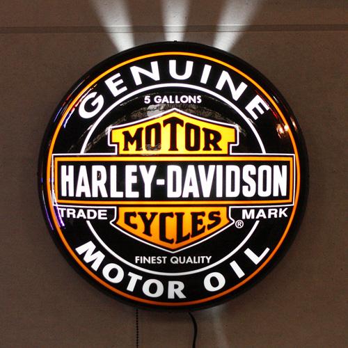HARLEY-DAVIDSON ハーレーダビッドソン パブライト<オイル缶> HDL-15619 アメリカ雑貨 アメリカン雑貨