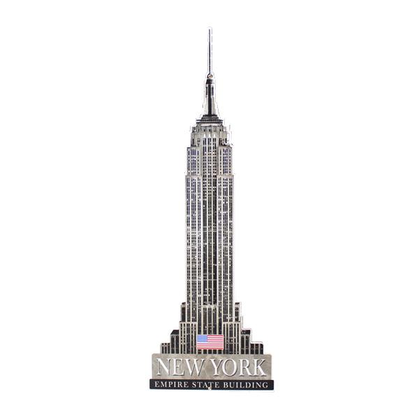 アメリカンスティールサイン「Empire State Building」 PS-186 エンパイアステートビル ニューヨーク メタルサイン 看板 アメリカ雑貨 アメリカン雑貨