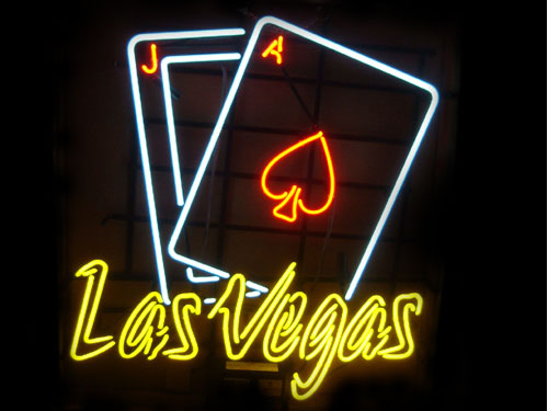 ネオンサイン Las Vegas ネオン管 照明 店舗装飾 インテリア ガレージング アメリカ雑貨 アメリカン雑貨
