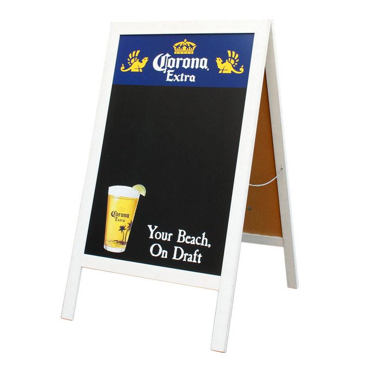 看板 ヴィンテージサインスタンド CORONA EXTRA 高さ123×幅70.5×奥行4.5cm 木製 自立式看板 アメリカ直輸入 ユーズド看板 アメリカン雑貨