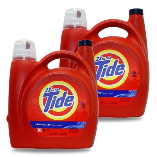 Tide タイド洗濯洗剤 液体 (オリジナルセント )96回分 (4430ml 150oz ) ×2本セット アメリカ雑貨 アメリカン雑貨
