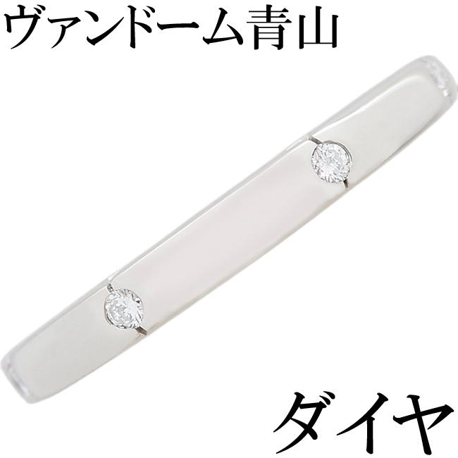 ヴァンドーム青山 ダイヤ Pt900 リング 指輪 11号【中古】【新品仕上げ済】