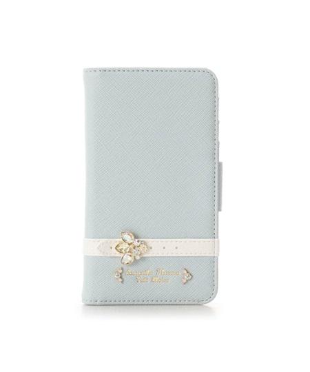 サマンサタバサ モバイルケース iphone7-8 ビジューベルト ライトブルー SamanthaThavasaPetitChoice サマンサ タバサ プチチョイス