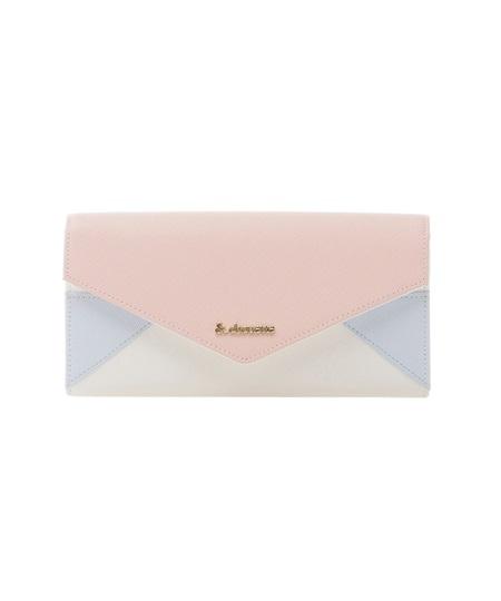 サマンサタバサ 長財布 レター型かぶせ財布 ピンク &chouette アンド シュエット