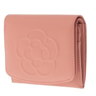 クレイサス 財布 折財布 二つ折り BOX ワッフル ピンク CLATHAS レディース プレゼント