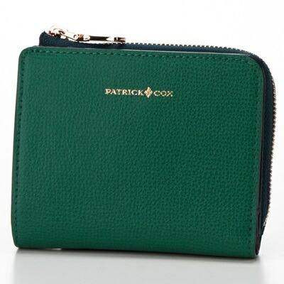 パトリックコックス 折財布 ヴェニス L字ファスナー グリーン PATRICK COX パトリック コックス
