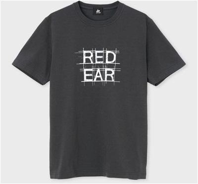 ポールスミス Tシャツ RED EAR ロゴ ブラック S Paul Smith