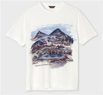 ポールスミス Tシャツ シャノンパークウッズ ホワイト M Paul Smith PaulSmith ポール・スミス