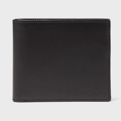 ポールスミス 財布 折財布 二つ折り PCボックスカーフ ブラック Paul Smith ポール スミス