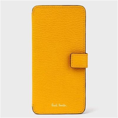 ポールスミス iPhone ケース カラーブロックゴート イエロー Paul Smith PaulSmith ポール・スミス