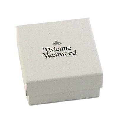 ヴィヴィアンウエストウッドキーリングROUNDORBSILVERGADGETブラックVivienneWestwood