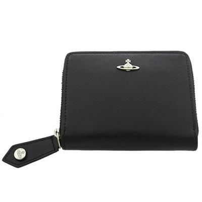 ヴィヴィアンウエストウッド 財布 短財布 二つ折り KENT ブラック Vivienne Westwood