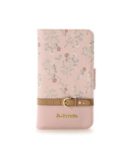 サマンサタバサ モバイルケース フローラルiPhoneXケース ピンク &chouette アンド シュエット