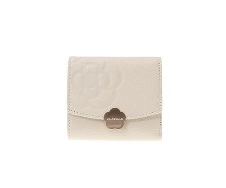 クレイサス 折財布 リモナード ボックス三つ折財布 アイボリー CLATHAS レディース プレゼント