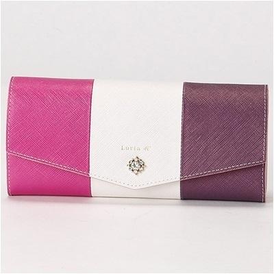ルリアヨンドシー Luria 4℃ 長財布 バイオレット レディース プレゼント