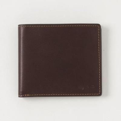 アニエスべー 折財布 カードウォレット ブラウン agnes b アニエス ベー ボヤージュ