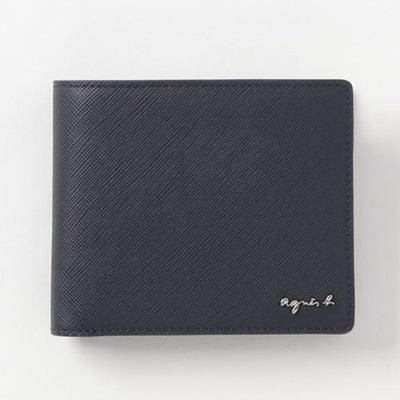 アニエスべー 折財布 ウォレット ネイビー agnes b アニエス ベー ボヤージュ