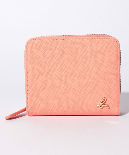 アニエスべー 折財布 ウォレット ピンク agnes b アニエス ベー ボヤージュ