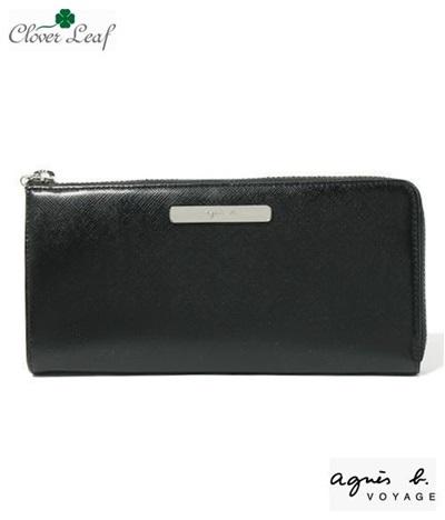 アニエスベー 長財布 ブラック