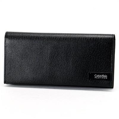 カルバンクライン ジリガンズ2 長財布 ブラック Calvin Klein PLATINUM