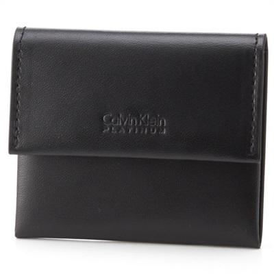 カルバンクライン フォーカス コインケース 小銭入れ ブラック Calvin Klein PLATINUM