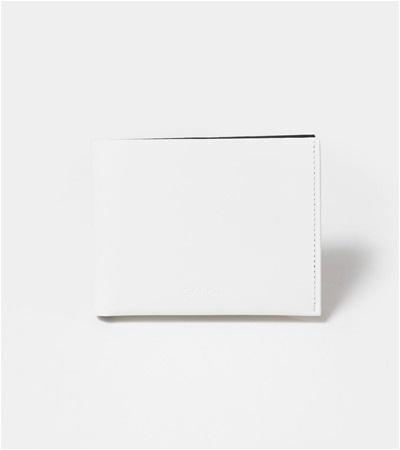 カルバンクライン フォーカス 二つ折り財布 純札 ホワイト