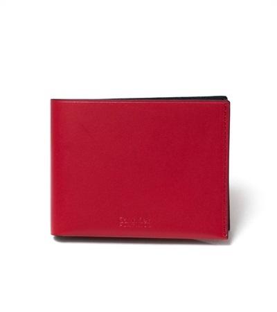 カルバンクライン フォーカス 二つ折り財布 レッド