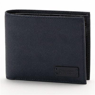 カルバンクライン セイム 二つ折り財布 ネイビー