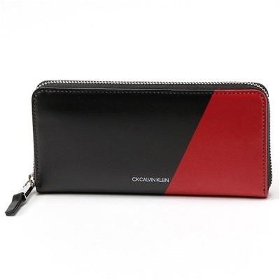 カルバンクライン ラウンドジップ 長財布 アンディ小物 ブラック Calvin Klein PLATINUM