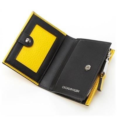 カルバンクライン 小銭入れ コインケース ラップ小物 レッド Calvin Klein PLATINUM