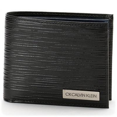 カルバンクライン 折財布 タットII小物 ネイビー Calvin Klein PLATINUM