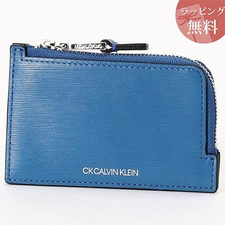 カルバンクライン コインケース マルチケース メンズ ニッチ ブルー CalvinKlein カルバン クライン ck