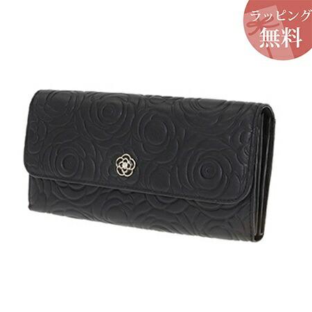 クレイサス 財布 長財布 カメル フラップ ブラック CLATHAS レディース プレゼント
