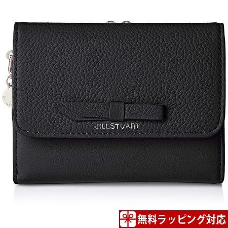 ジルスチュアート 財布 折財布 アドラブル 3つ折り口金財布 ブラック JILLSTUART レディース ギフト