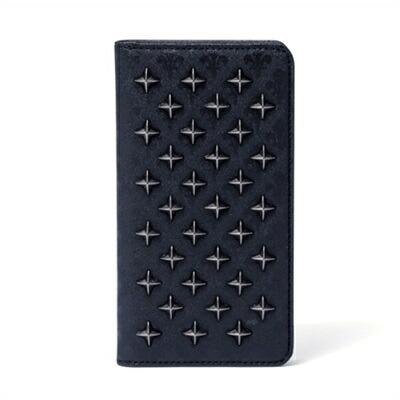 パトリックコックス クロススタッズ iPhone 7/6/6S ケース ブラック PATRICK COX
