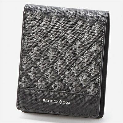 パトリックコックス メゾン 折財布 ブラック