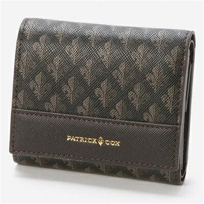 パトリックコックス メゾン 三つ折財布 チョコ