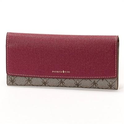 パトリックコックス リッチ 薄型長財布 パープル