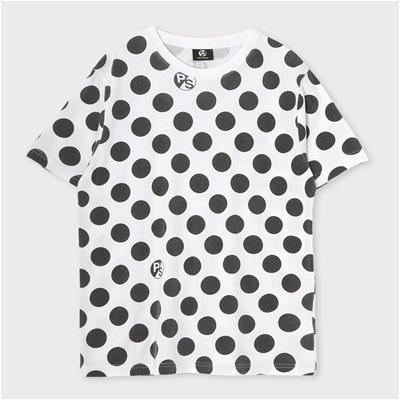 ポールスミス ポルカドットプリントTシャツ ホワイト XL