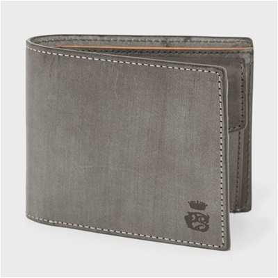 bbdc341f53b3 PCワックス 二つ折り財布 ダークブラウン PaulSmith ポール・スミス ポールスミス-メンズ財布