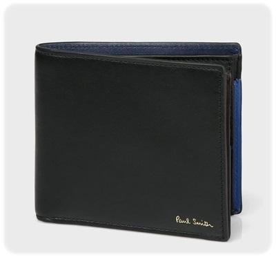 ポールスミス 折財布 コンサティーナ ブラック