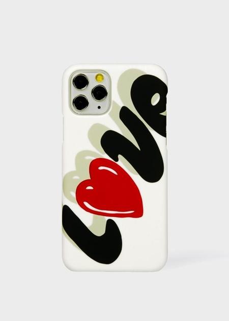 ポールスミス モバイルケース Love Collection iPhoneケース 000 Paul Smith ポール スミス