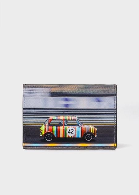 ポールスミス 財布 バッグ メンズ レディース 彼氏 彼女 正規品 新品 ギフト 記念日 お祝い 入学祝 就職祝 クリスマス プレゼント ポールスミス パスケース レーシングミニ ブラック Paul Smith ポール スミス