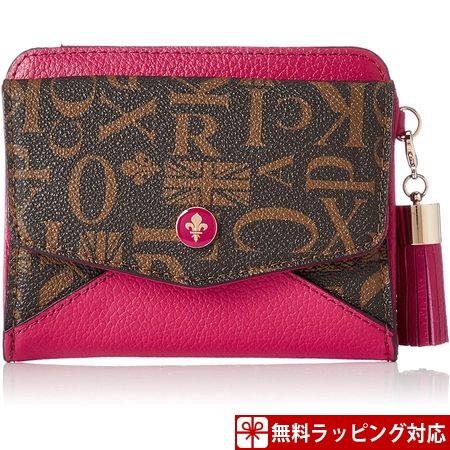 パトリックコックス 財布 レディース 折財布 クィーン 2つ折りBOX財布 ピンク PATRICK COX パトリック コックス