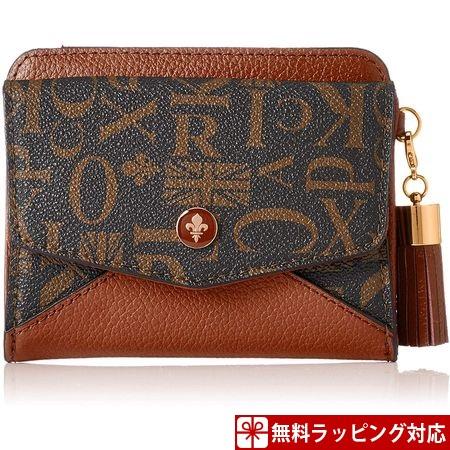 パトリックコックス 財布 レディース 折財布 クィーン 2つ折りBOX財布 ブラウン PATRICK COX パトリック コックス