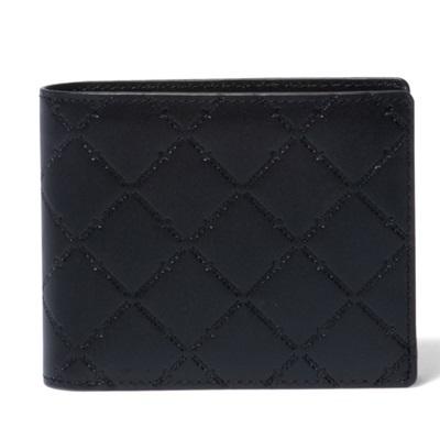 パトリックコックス 折財布 LOGO EMBOSS 小銭入れ付二つ折り財布 ブラック PATRICK COX パトリック コックス