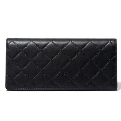 パトリックコックス 長財布 LOGO EMBOSS かぶせ型長財布 ブラック PATRICK COX パトリック コックス